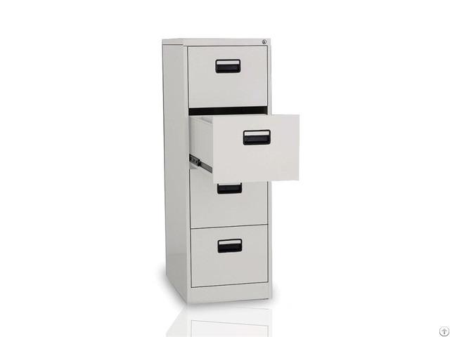 Metal 4 Drawer Lateral Safe File Cabinet