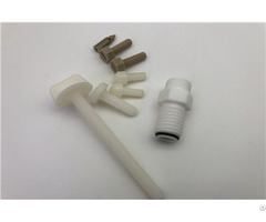 Chemical Resistance Self Lubrication High Performance Engineering Plastic Screw