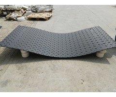 Hdpe Composite Ground Production Black Plastic Temporary Track Mats