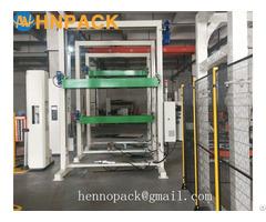 Fully Automatic In Line Top Foil Sheet Dispenser Machine