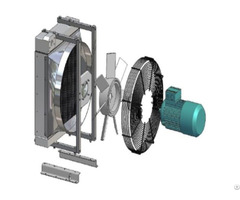Cooling System Package Including Fan Shroud Motor Dc Ac Hydraulic Thermostat Etc