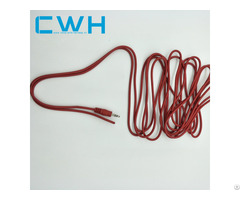 Red Audio Cable Stereo Wire Harness And Assembly