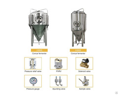 1000l Fermenter Fermentation Tank For Brewery