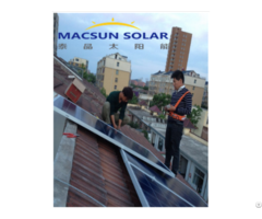 1kw 1mw Rooftop On Grid Solar Power Systems
