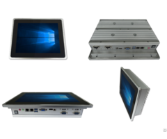 Intel® Celeron® Soc Processors J1900 Fanless 12 Inch Rugged Capacitive Touch Panel Pc