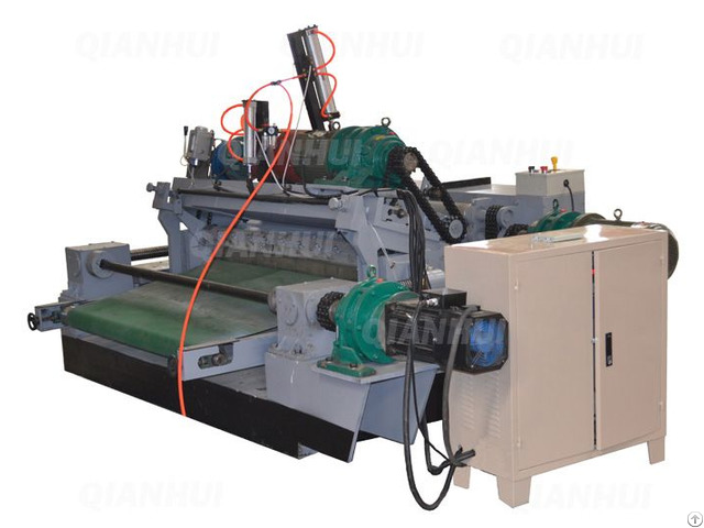 Spindleless Veneer Lathe With Clipper Builtin 2 In One