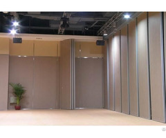 Movable Partition Walls System Mdf Panel Operable Wall For Hotel Banquet Hall Stage