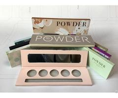 Paper Eye Shadow Palette Box