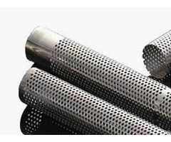 Straight Welded Perforated Tube