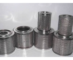 Perforated Filter Elements