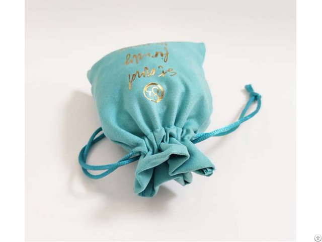 Mini Microfiber Jewelry Pouch China Factory Wholesale Price