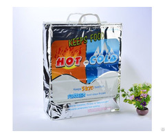 Gusset Plastic Thermal Tote Bag Large Size