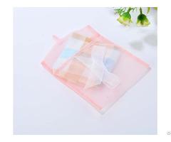 Organza Sheer Envelope Gift Bag With Silk Ribbon Bowknot
