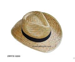 Cheap Price Straw Cowboy Hat Swvn 8200