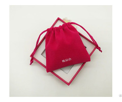 High Quality Small Velvet Drawstring Gift Bag