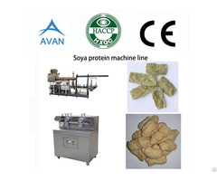Soya Nuggets Production Line