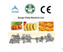 Automatic Meat Burger Patty Machine