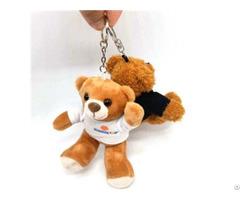 Cute Cartoon Keychain Plush Toy Loverly Bear Diy Car Bag Pendant Little Dog