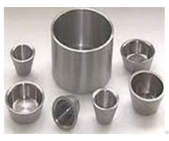 Customized High Temperature Resistant Tungsten Crucibles