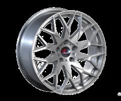 Brushed Silver Matt Balck Aluminum Wheels Jihoo