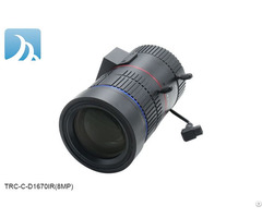 4k 8mp 16 70mm Lens With C Mount