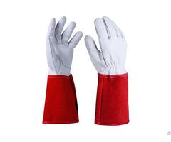 Cowhide Safety Work Gloves Clg 04