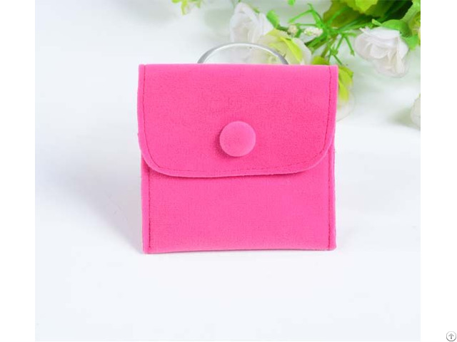 Velvet Jewelry Bag For Pendants
