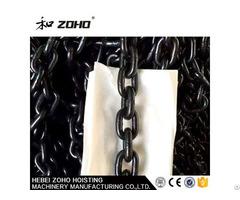 High Load Iron Thick Black Lifting Chain