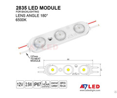Adled Light New Arrival Ce Rohs Certificated 2 5w 300lm Smd2835 Led Module For Signs