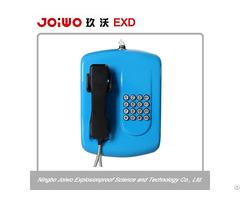 Vandal Resistant Apartment Audio Door Phone Intercom System Weatherproof Public Telephone