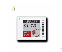 Suny Colorful Epaper Eink Electronic Shelf Label Price Display Esl