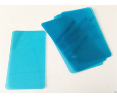 High Transparent Easy Tear Blue Pet Protective Film For Mobile Phone Screen Die Cutting