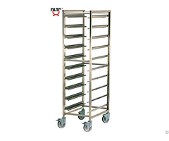 Stainless Steel Rack Trolley For Pastry And Gn Trays