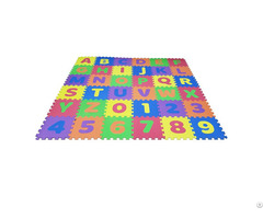 36pcs Set Eva Foam Alphabets And Numbers Puzzle Mat For Kids