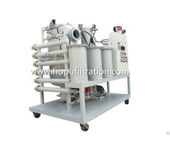 Vacuum Transformer Oil Filtration Plant