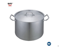 Short Body Stainless Steel Pot With Compound Bottom 03 Style