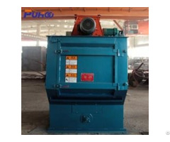 Rubber Belt Tumble Shot Blasting Machine