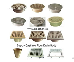 Bronze Strainer And Cleanout Top