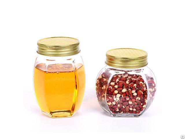500g Honey Glass Jar