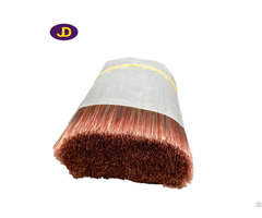 The Manufacturer Production Of Red Brown Gradient Brush Filaments Factory