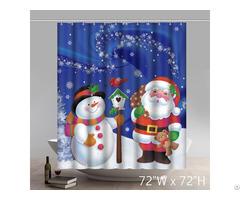 Snowman Shower Curtain