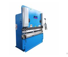 Wf67k 80ton 2200 Hydraulic Folding Machine 3 2meters Bending Machinery Metal Press Brake Da41