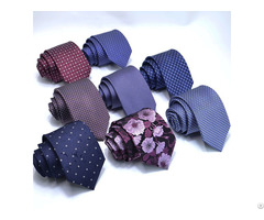 Silk Tie Stripes 8cm