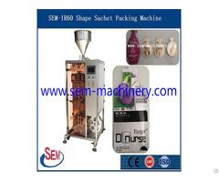 Irregular Shape Sachet Liquid Packing Machine