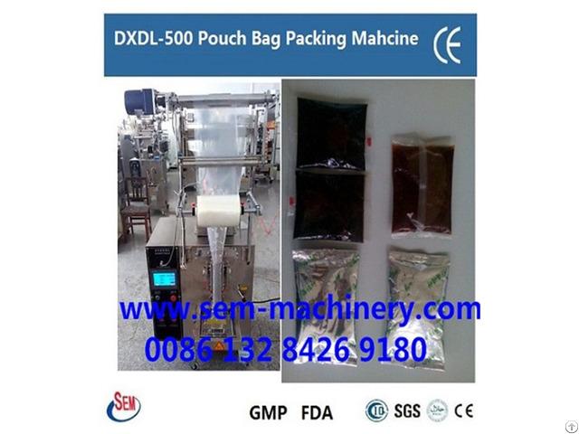 Bottle Shape Sachet Liquid Packing Machine