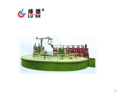 Ld 605 Automatic Rotary Table And Pu Machine For Car Seat Mat Pillow