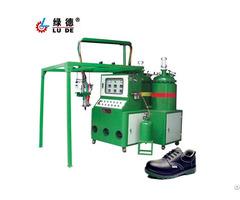 Ld 905 Pu Polyurethane Shoe And Sole Injection Molding Machine