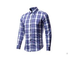 Men Plaid Shirt Sell In China