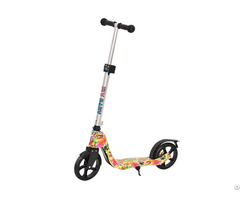 China Flybaby Kids City Scooter Steel Frame Doodle Color