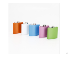 Customize Color Liquor Stainless Steel Flask